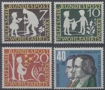 Allemagne : N° 195 à 198 Xx Année 1959