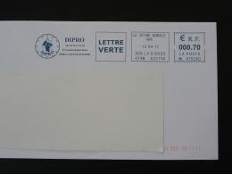 Mythologie Egyptienne Mythology (lettre Verte) La Seyne Sur Mer 83 Var - EMA Sur Lettre Slogan Meter On Cover
