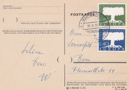 Germany 1957 FDC Europa CEPT   (T15-26) - Europa-CEPT