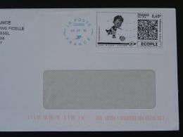 Football UEFA EURO 2016 Timbre En Ligne Sur Lettre (e-stamp On Cover) TPP 3346 - UEFA European Championship