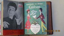 CALIBAN, PANORAMA DU MONDE / 5 REVUES De Janv. à Juin 1951 / COUV. DE HETREAU Et PEYNET - Livres, BD, Revues