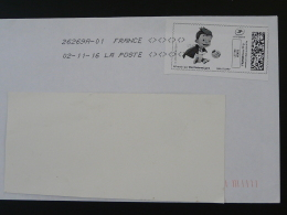Football UEFA EURO 2016 Timbre En Ligne Sur Lettre (e-stamp On Cover) TPP 3399