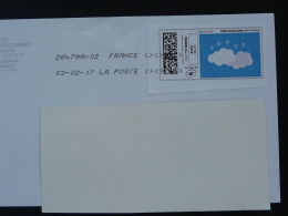 Meteorologie Timbre En Ligne Sur Lettre (e-stamp On Cover) TPP 3455 - Climate & Meteorology
