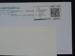 Colibri Hummingbird Timbre En Ligne Sur Lettre (e-stamp On Cover) TPP 3520