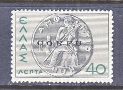 ITALIAN  OCCUP.  GREECE  ( CORFU )  N 19  ** - 9. WW II Occupation (Italian)