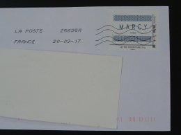 Entreprise MARCY Timbre à Moi Sur Lettre (e-stamp On Cover) TPP 3530