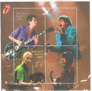 2003 Austria Rolling Stones Music Miniature Sheet Of 4  MNH @FACE