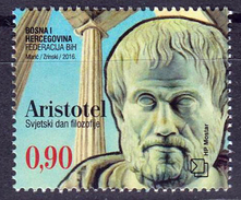 Bosnia Croatia 2016 World Philosophy Day, Aristotle, Ancient Greece, MNH - Otros