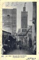 [DC10099] CPA - MAROCCO - FEZ - MOSQUEE DES CHRABLIYINE - Viaggiata 1931 - Old Postcard - Fez