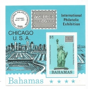 1986 Bahamas USA Statue Of Liberty Souvenir Sheet Of 1  MNH - Bahamas (1973-...)