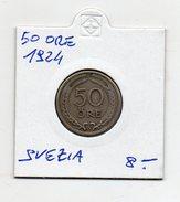 Svezia - 1924 - 50 Ore - (FDC4648) - Svezia