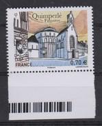 MB 3682) Frankreich 2016 Mi# 6481 **: Matilin An Dall Glöckner Blind Ringer Carillonneur, Quimperlé Finistere, Bombarde - Musik