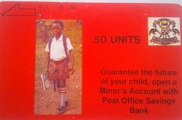 Uganda 50 Units Tamura - Uganda