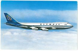 CP OLYMPIC AIRWAYS - BOEING 747-200 B JUMBO JET - 1946-....: Moderne