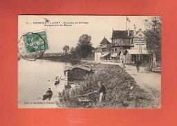 * CPA..dépt 77..THORIGNY - LAGNY :  Hameau Du Hallage - Perspective De Marne..n°17  : Voir 2 Scans - France