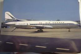 AIR FRANCE   CARAVELLE 3   F BHOB  BOURGET AIRPORT - 1946-....: Era Moderna