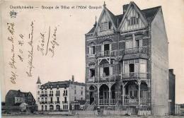 Guerre 14/18 - Feldpostkaere - Oostduinkerke - Groupe De Villas Et L' Hôtel Gauquié - Oostduinkerke