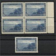 CANADA 13 CENTS HALIFAX VF MNH BLo4 + Single! - 1937-1952 Règne De George VI