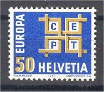 1963, SWITZERLAND, EUROPA CEPT, SET MNH ** - Timbres