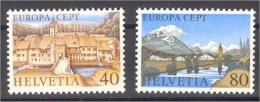 1977, SWITZERLAND, EUROPA CEPT, SET MNH ** - Timbres