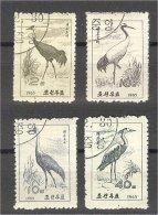 NORTH KOREA, BIRDS, USED SET - Corée Du Nord