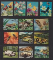 BHUTAN, 23 DIFFERENT 3-D-STAMPS, ALL MINT NEVER HINGED ! - Bhoutan