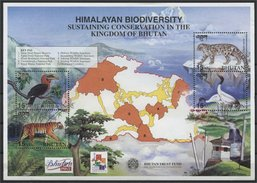 BHUTAN, HIMALAYAN BIODIVERSITY MNH - Bhoutan