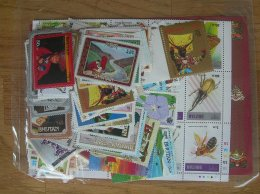 BHUTAN, 200 DIFFERENT, VERY NICE LITTLE COLLECTION - Bhoutan