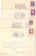 Avignon: 4 Lettres Avec Fammes Différentes De La Ville - 1961-....