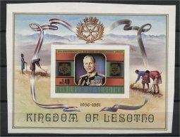 LESOTHO, RARE SOUVENIR SHEET DUKE OF EDINBURGH  IMPERFORATED, MNH - Lesotho (1966-...)