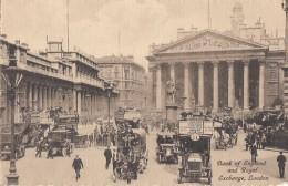 Automobiles - Taxis Et Fiacres - Banque - Londres - Taxi & Carrozzelle