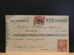 68/873 QUITTANCES  1921  OBL. ARLON - Belgique
