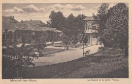 Luxembourg - Mondorf Les Bains - Casino Et Petite Piscine - Postmarked 1922 - Mondorf-les-Bains