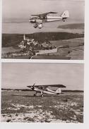 2x Photo Dornier Do28 Aircraft - 1946-....: Moderne