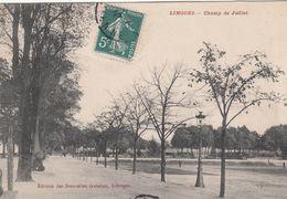 Cp , 87 , LIMOGES , Champ De Juillet - Limoges
