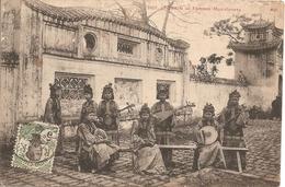 Asie:  Indo-Chine Française  -  Tonkin - Femmes Musiciennes  Réf 3008 - Postcards