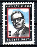 HONGRIE. N°2363 Oblitéré De 1974. Salvador Allende.