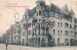 POSEN - W. 3 HELMHOLTZSTRASSE ECKE LINNESTRASSE
