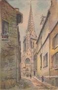 [35] Ille Et Vilaine >  Vitre Dessin Illustrateur Barday L'eglise Notre Dame - Vitre