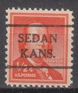 USA Precancel Vorausentwertung Preos Locals Kansas, Sedan 716