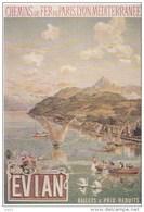 CPM Affiche Publicitaire De La Société PLM EVIAN Tanconville 1900  Repro - Andere