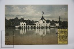 Old Postcard Slovakia - Bratislava - Pressburg - Pozsonyí - Boats On The River - Posted 1914 - Eslovaquia