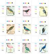 Kenya 2017 Animals Birds Definitive I70018