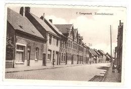 LANGEMARK - Zonnebekestraat - Ed. M.A.E. De Gruyter, Brugge - De Keyser-Moeyaert, Langemark - Langemark-Poelkapelle