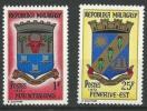 """Madagascar YT 496 Et 497 """"  Armoiries """" 1972 Neuf** - Madagascar (1960-...)"""