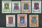"""Madagascar YT 437A à 440 """" Armoiries """" 1967 Neuf** - Madagascar (1960-...)"""