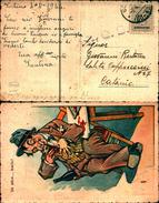 88153) Cartollina Con 30c. Amlire Dell'occupazione Americana In Sicilia Da Sortino A Catania Il 4-4-1944