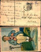 88153) Cartollina Con 30c. Amlire Dell'occupazione Americana In Sicilia Da Sortino A Catania Il 3-4-1944