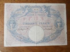 Billet De 50 Francs Daté:30-03-97