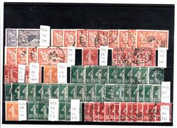 Francia. 73 Timbres Vari Dal 1906 Al 1922 - Francia